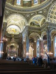 The Basilica of St. Josaphat was one of the more popular stops.