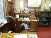 Best Place at Pabst, 917 W. Juneau Ave., let visitors see Capt. Pabst's office and rolltop desk.