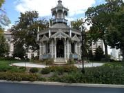 """The Wisconsin Club, 900 W. Wisconsin Ave., opened the doors of its """"belvedere,"""" or enclosed gazebo."""