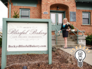 Retail: Becky's Blissful Bakery for its innovative food products and partnering with local companies (Pictured: owner Rebecca Scarberry)