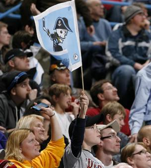 The Milwaukee Admirals hockey team is among the teams that play at the BMO Harris Bradley Center.