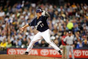 Zack Greinke, Milwaukee Brewers