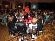 The event was held in the Grand Ballroom of The Pfister Hotel.
