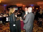 Guests network before the awards ceremony.
