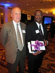 Brian Mitchell, owner of Choice Construction Cos. Inc. (right), received an individual honor.