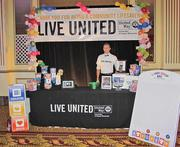 The United Way of Greater Milwaukee greeted guests at the event.