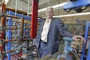 """#9: """"I'm not the 'music man.' I'm not coming to town with some harebrained idea and then catching the next train out."""" Rich Meeusen, CEO of Badger Meter Inc., on his company's acquisition of Racine Federated Inc.Story: Badger Meter's Meeusen tells Racine Co. he's no 'music man'"""
