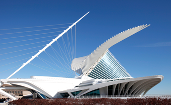 The Milwaukee Art Museum is one of downtown's most impressive structures.