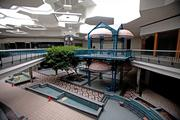 Despite years of inactivity, the inside of the mall has held up pretty well.