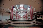 The empty food court of Northridge in 2011