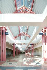The vacant food court from 2005