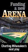 Suburban Milwaukee officials hesitant on arena tax