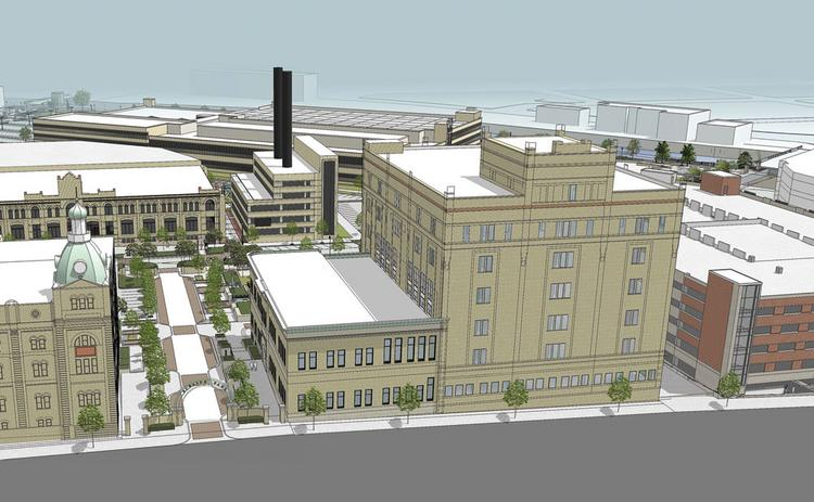 Rendering of the third phase of Schlitz Park