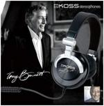 Koss introduces Tony Bennett-signature headphones