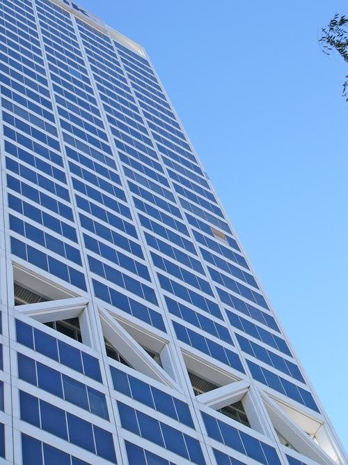 The US Bank tower in downtown Milwaukee.