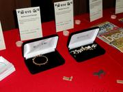 Jewelry was among the favorite of the silent auction items.