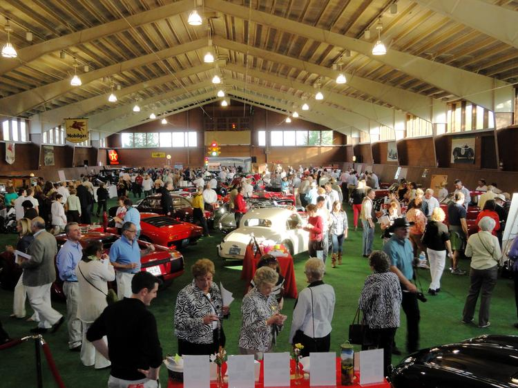 More than 850 people attended the fundraiser at the Oldenburg ranch in Mequon.