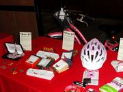 The night included many silent auction items to help raise money for ABCD.