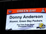 Anderson played on the Packers' first two Super Bowl teams.