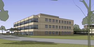 Rendering of the expansion at Wheaton Franciscan Healthcare's Franklin campus