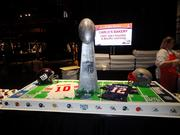"""The TLC show """"Cake Boss"""" provided a special cake for the event."""