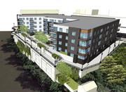 HSI Properties apartment building would overlook the Milwaukee River.