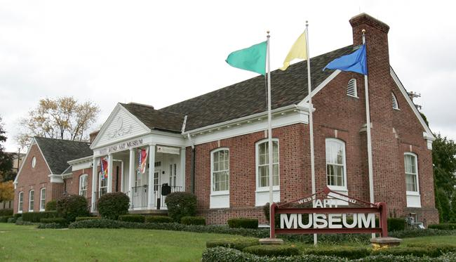 The former Museum of Wisconsin Art building in West Bend, shown here in a 2006 photo when the museum was called the West Bend Art Museum.