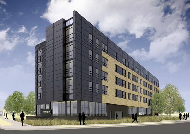 The proposed technical school and apartments on West Capitol Drive is among eight Milwaukee projects vying for the tax credits.