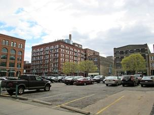 Jackson Street Management LLC, the developers of the downtown Milwaukee Marriott, bought this parking lot in the 3rd Ward.