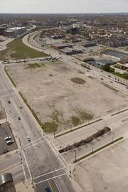 The county land in the Park East also was part of the package assembled to lure Kohl's Corp.'s headquarters to Milwaukee.