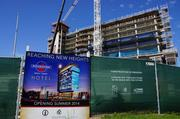 Gilbane Inc. and Greenfire Management Services Inc., a firm created by the Potawatomi Business Development Corp., are the lead contractors on the hotel project.