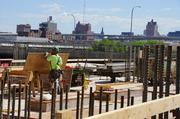 Contractors plan to have about 25 percent of the hours worked on the project be done by city of Milwaukee residents.