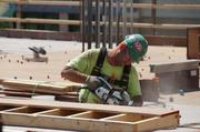 Minority-owned building companies are to be awarded 20 percent of the contract dollars on the job.
