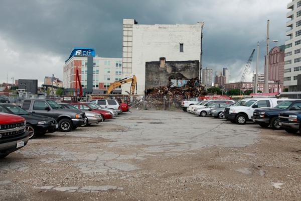 Milwaukee has completed demolishing the Sydney Hih complex, which was on the same Park East block where a Element hotel is to be developed.