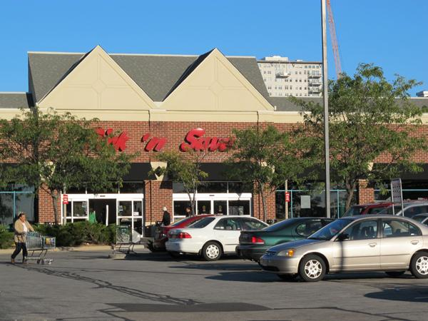 The East Pointe Marketplace has 58,000 square feet of building space.