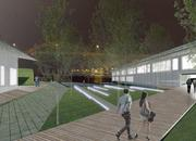 Andrew Peters' concept of new development near the Hoan Bridge