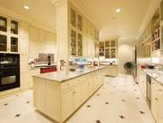 The home is equipped with a commercial grade kitchen and butler's pantry.