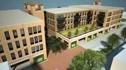 Mandel Group's Whitefish Bay project would have two buildings standing three and four stories tall, respectively.