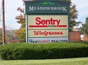 The Meadowbrook Marketplace is at 601 Meadowbrook Road in Waukesha, where the West Waukesha bypass is planned to run.