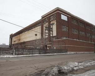 File photo of the building where Talgo's Milwaukee plant is located in the former Tower Automotive complex.