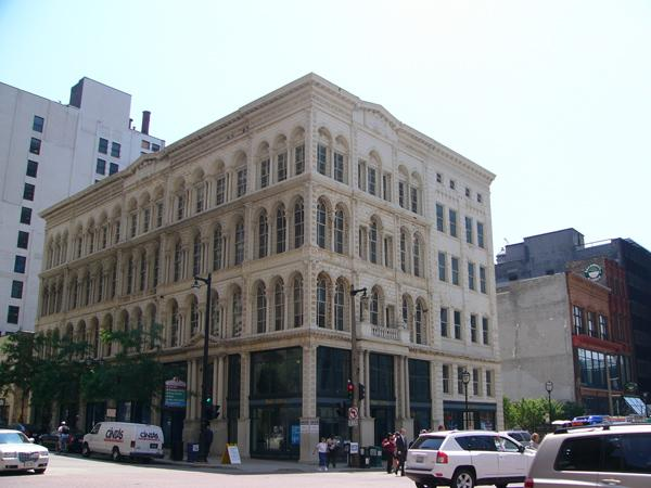 The Iron Block is the only building in Wisconsin that has an iron facade, which will be preserved under a $3.2 million restoration proposed by TMB Development Co.