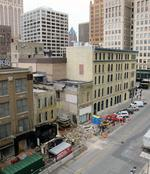 Building falls for downtown Milwaukee Marriott