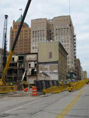 The hotel is slated to open in late 2013. Click here for story