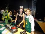 Slideshow: Chef D'Amato and Miss America big hit at Super Bowl