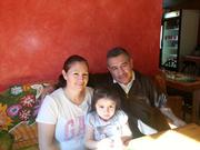 Guanajuato owners Julio Lopez and Carolina Gamino, with their daughter, Marely Lopez.