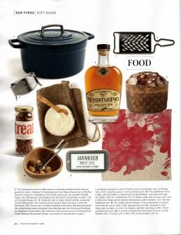 Image of the Martha Stewart Living article with Treat Bake Shop's spiced pecans