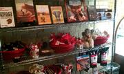 The cafe will sell chocolate- and elephant-related gifts as well as chocolate products.