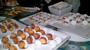 Desserts at the Dream Dance Steak Showcase included bacon donuts.