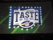 The Taste of the NFL was held at the Gleaners Food Bank in Indianapolis.