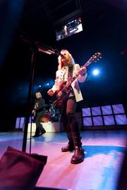 Styx guitarist Tommy Shaw performs during the show.
